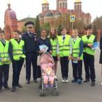 Акция «Уважай права пешеходов – притормози перед пешеходным переходом» в Домодедово