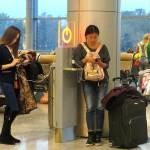 В аэропорту Домодедово установили стойки для зарядки гаджетов