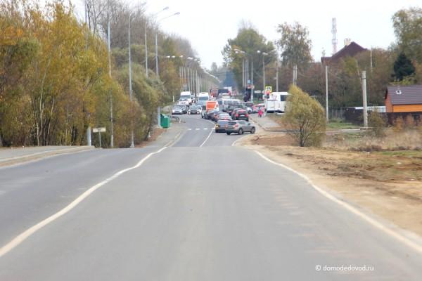 Перекресток с Каширским шоссе