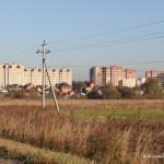 Новостройка «Гюнай» на улице Жуковского в микрорайоне Авиационный