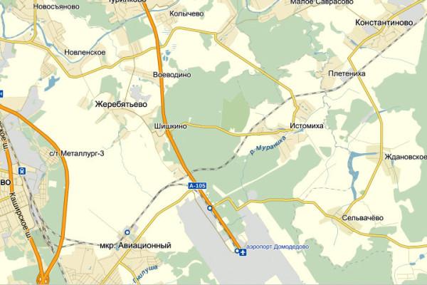 Жеребятьево на карте