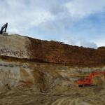 Вблизи Долматово остановлена добыча песка