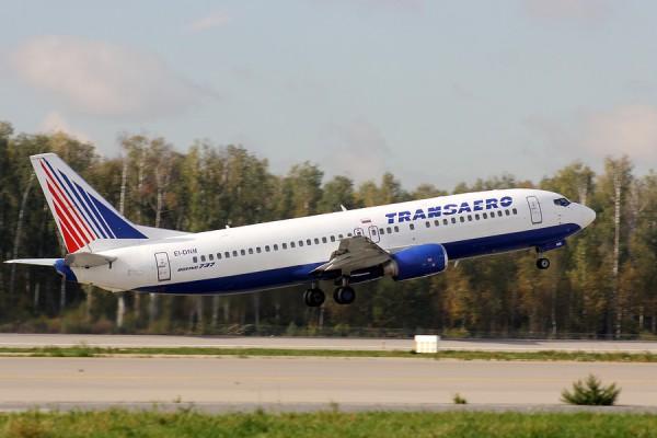 """Боинг 737 """"Трансаэро"""""""