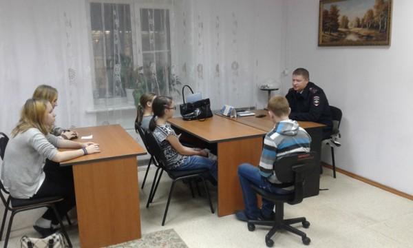 Правовое консультирование детей и подростков в УМВД России по г.о. Домодедово