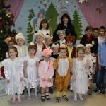Домодедовские полицейские поздравили детей с Новым годом