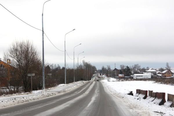 Дорога на деревню Редькино