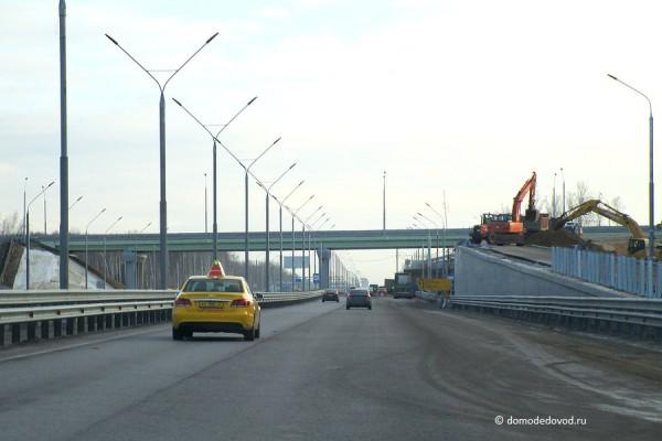 Съезд на Каширское шоссе закрыт