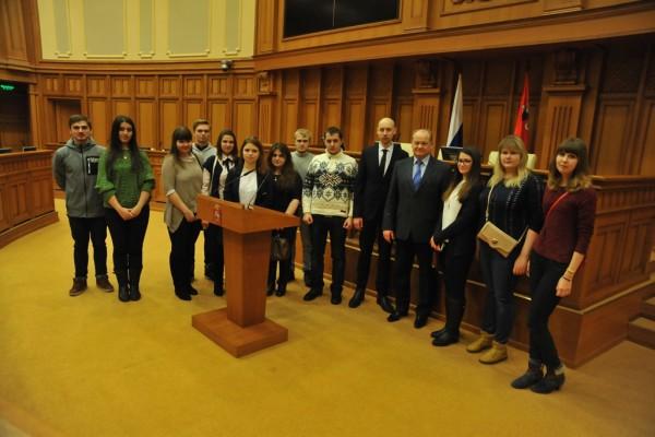 Парламентский урок для студентов
