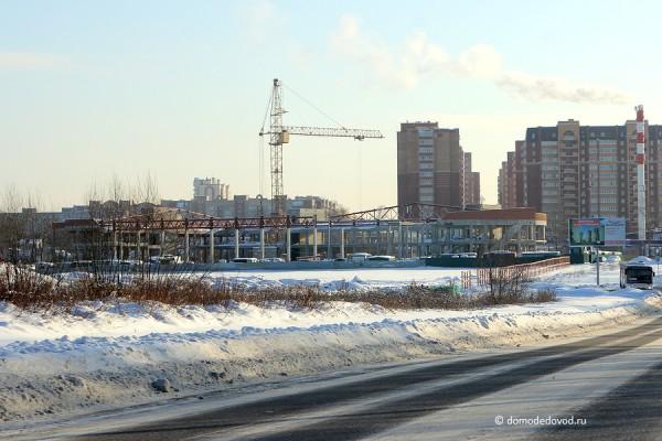 Строительство ледового дворца в Домодедово