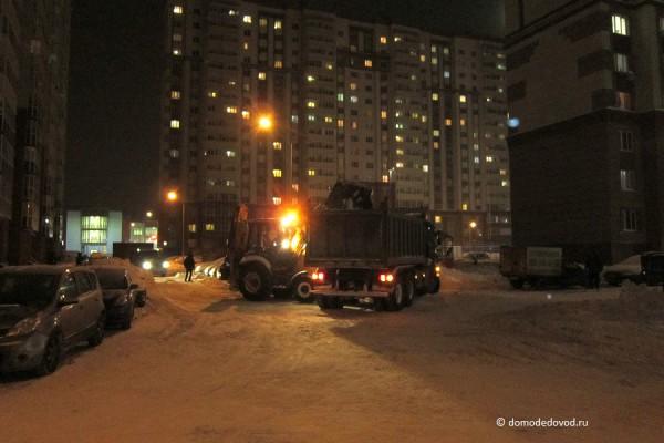Уборка снега в Новом Домодедово
