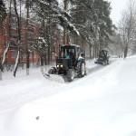 Уборка снега в Домодедово. Что-то заело!?
