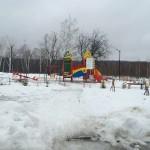 Ледяные детские площадки