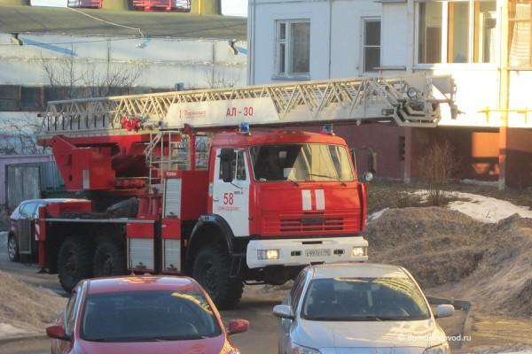 Пожарный автомобиль ПЧ Домодедово