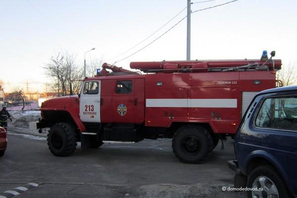 Пожарный автомобиль ПЧ Востряково