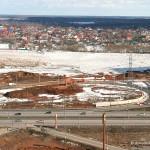 Съезд на М4 «Дон» в Южном микрорайоне Домодедово еще не введен