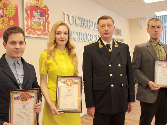 Домодедовец в третий раз получил премию за борьбу с сосульками