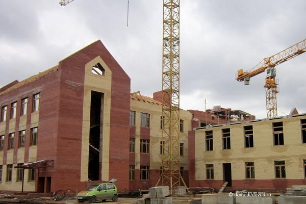 Строительство блока начальных классов гимназии №5