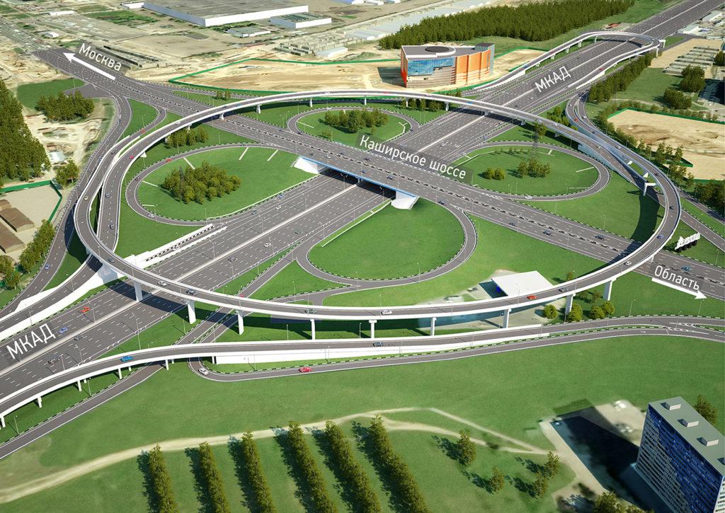 Развязка: МКАД и Каширское шоссе