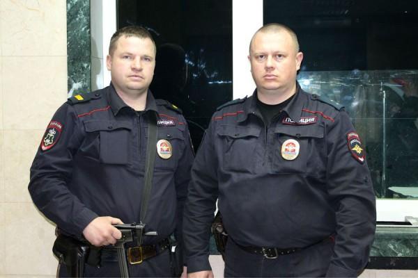Полицейские из Домодедово