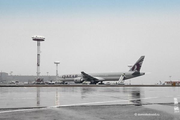 Аварийная посадка Qatar Airways