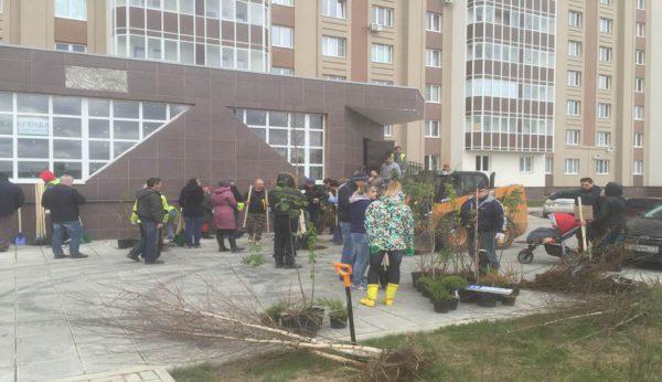 В результате субботника в Домодедово вывезено 160 тонн мусора