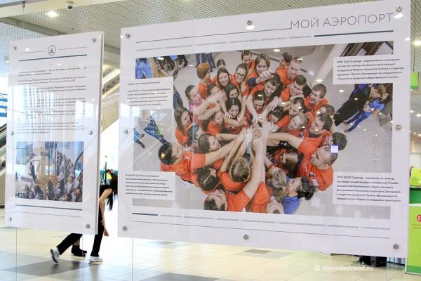 Выставка в аэропорту Домодедово