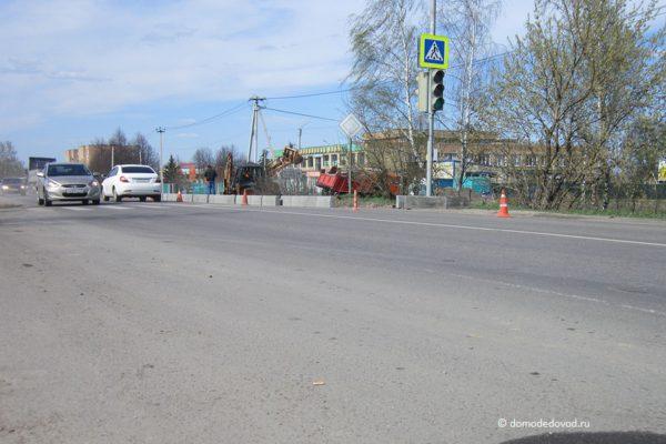 Ремонтные работы на дороге в Житнево