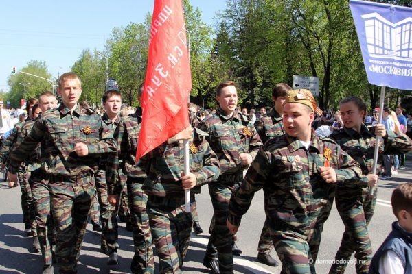 День Победы. Парад в Домодедово (18)