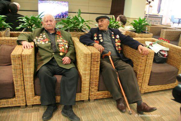 Аэропорт Домодедово встречает ветеранов ВОВ