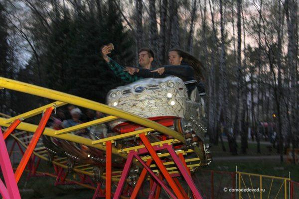 """Новые аттракционы в парке """"Ёлочки"""""""