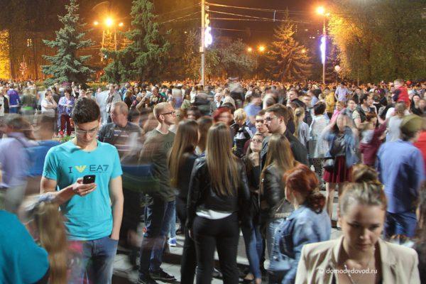 Салют в Домодедово