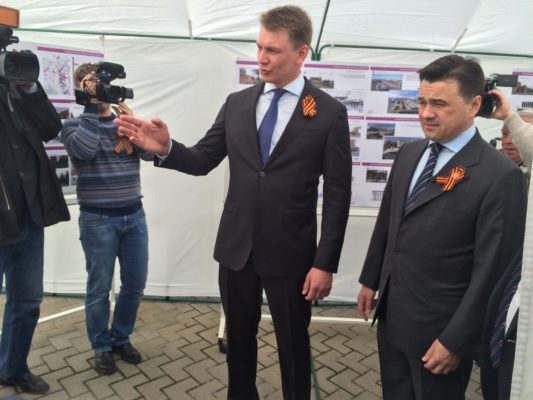 "Проект реконструкции стадиона ""Авангард"" представили губернатору"