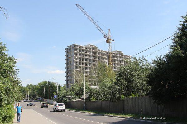 """Новостройка """"Гюнай"""" на Каширском шоссе. Июль 2016"""
