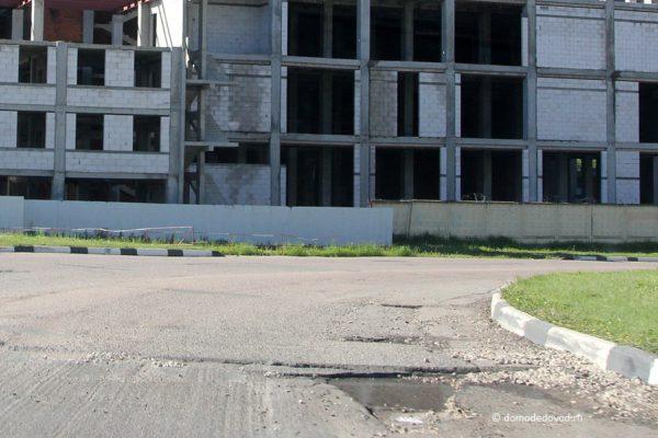 Ремонт дороги по улице Корнеева