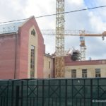 Строительство блока начальных классов гимназии №5. Июнь 2016