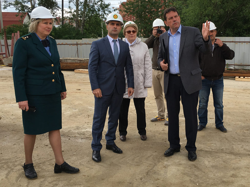 В Домодедово проверили безопасность стройплощадок