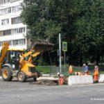 Ремонт дороги на улице 25 лет Октября