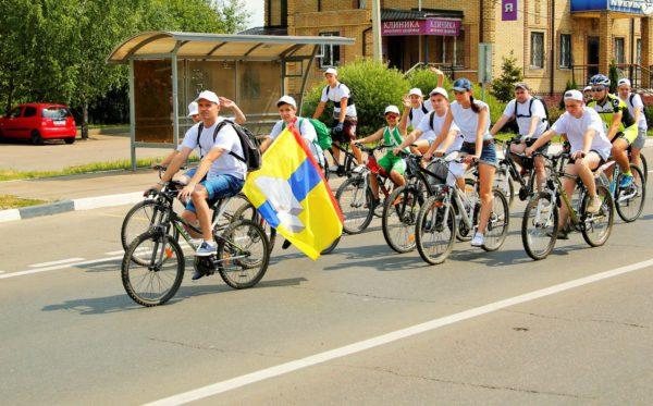 Велопробег в День молодежи
