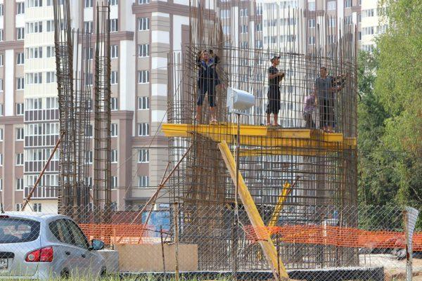 Строительство многоуровневого паркинга в Новом Домодедово
