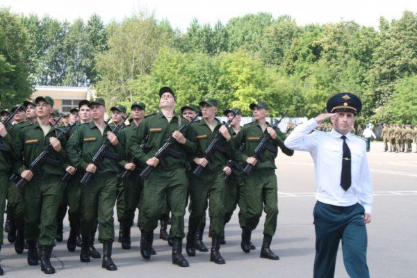 Военнослужащие части Ильинское присягнули на верность Родине