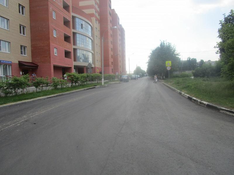 Новая дорога на улице Жуковского