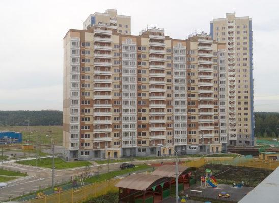 Первые три дома СУ-155 в Южном Домодедово