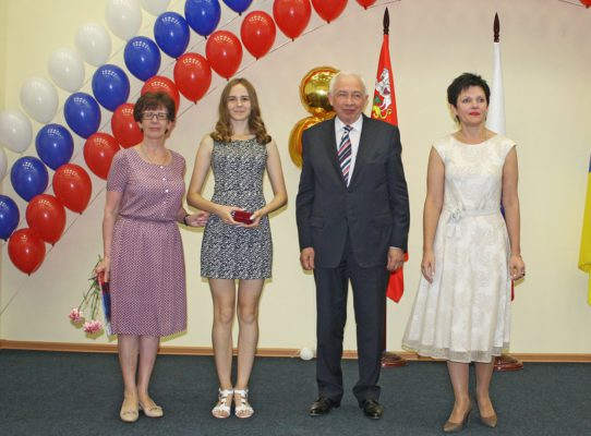 В Домодедово поздравили медалистов