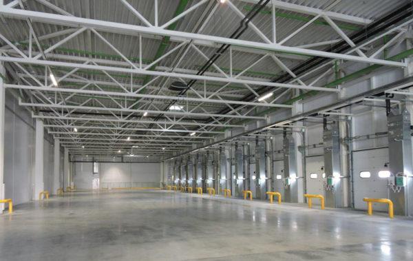 В Домодедово завершено строительство склада «Леруа Мерлен»