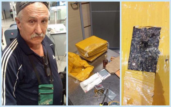 В Домодедово задержали наркокурьера