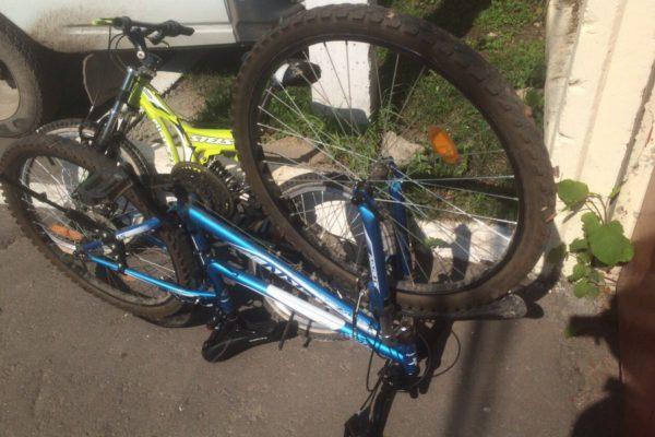 Розыск владельцев украденных велосипедов