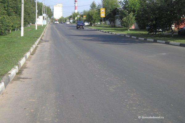 Разметка на улице Корнеева (6)
