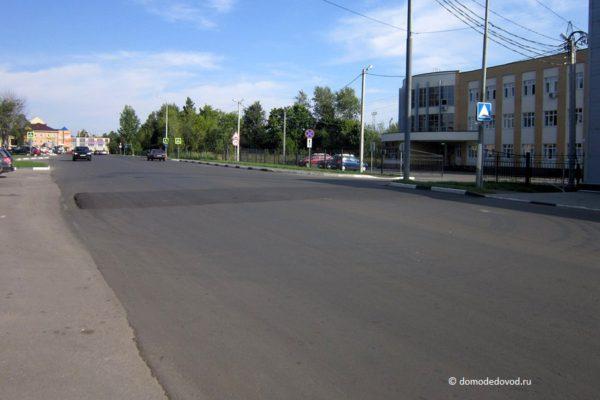 Разметка на улице Корнеева (4)