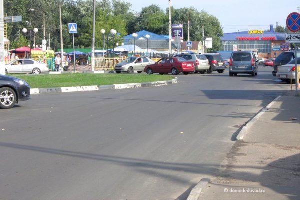 Разметка на улице Корнеева (3)
