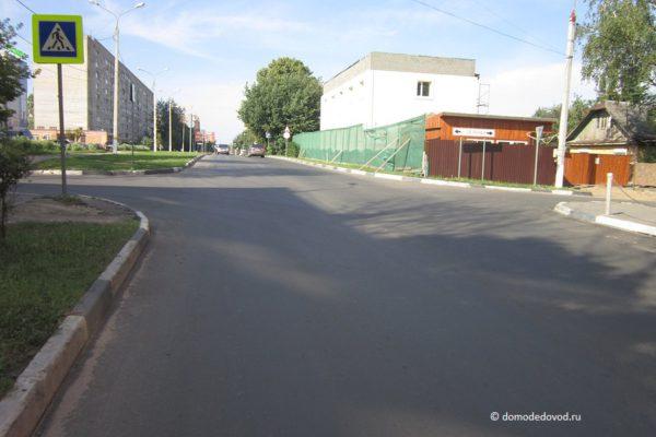 Разметка на улице Корнеева (1)